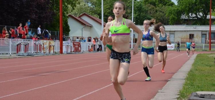 Csuta Dorottya, 600m, 1:39:97, új U13-as nemzeti rekord! 2016.05.05.