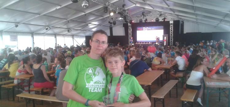 Makray Benedek futónk nyerte, az IronKid's futóversenyt! 2016.07.29.