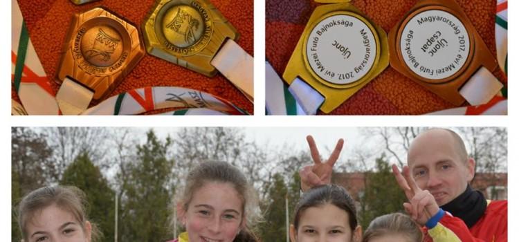 Mezei országos bajnokság! Egyéni arany és ezüst, csapat bronz!