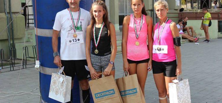 Fegyveres Anikó nyerte a Hajdú futóversenyt!
