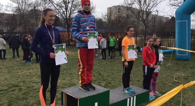 Csuta Dorka, Diákolimpiai meze futó, Bp. bajnok!
