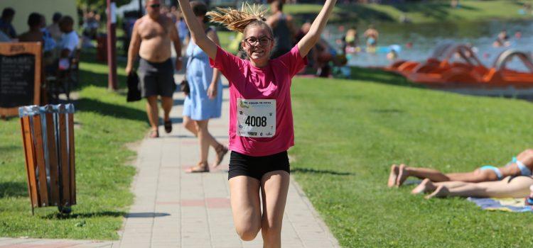 Lengyel Lizett nyerte, a Szelidi tó futást!