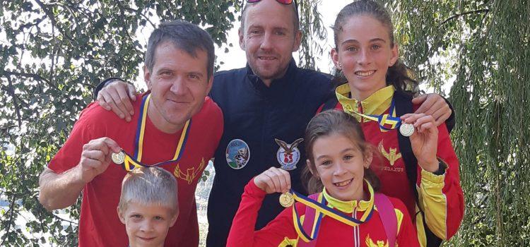 Győzelmi parádé Budakalászon……5 futó…..4 arany!