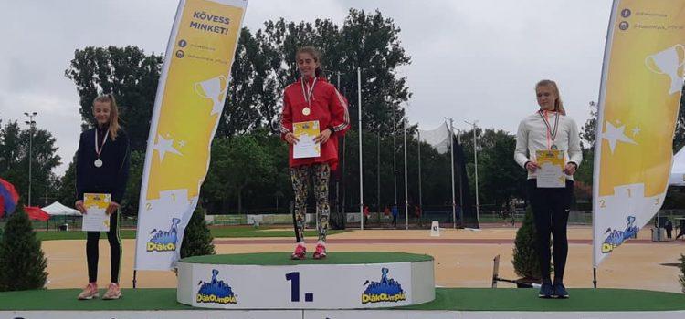 Országos, diákolimpiai bajnok 1500m-n, Csuta Doró!