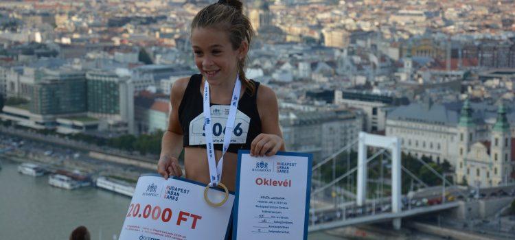 Csuta Johanna nyerte az Urban Games 5,5km-t!