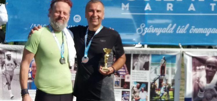 Szenior maraton futóink sikerei Győr városában!