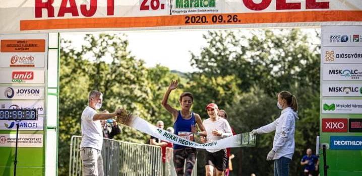 Bükki Hegyi maraton-10km győztese….Drótár Katalin, Pegazus Atlétika