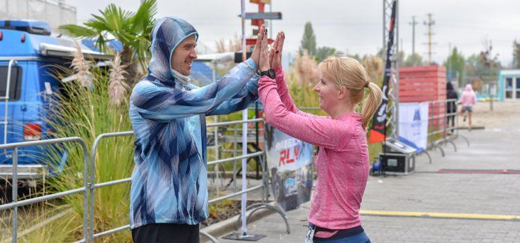 Váltó győzelem, a Lupa Beach Run versenyen.